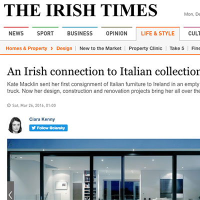 Italian Solutions in the Irish Times